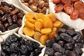 Dried fruits with gastritis