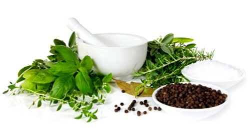 Treatment with herbs for dysbiosis