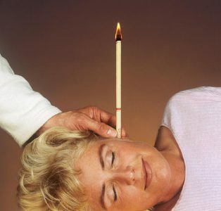 how to make an ear candle