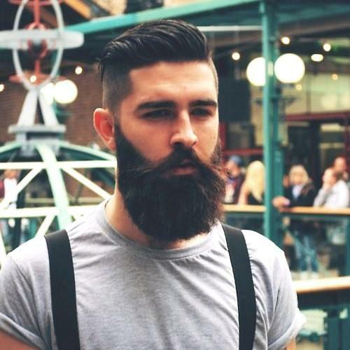 Beautiful beard with the Professional Hair System spray