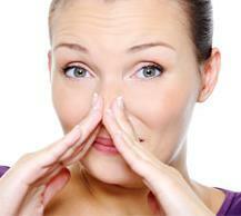 stafylokocker i näsan