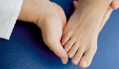 Arthritis of feet treatment