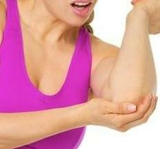 Bursitis of the elbow joint