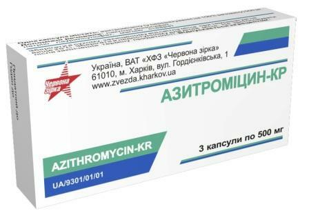 Instructions for use Azithromycin