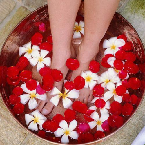 Special foot baths for odor